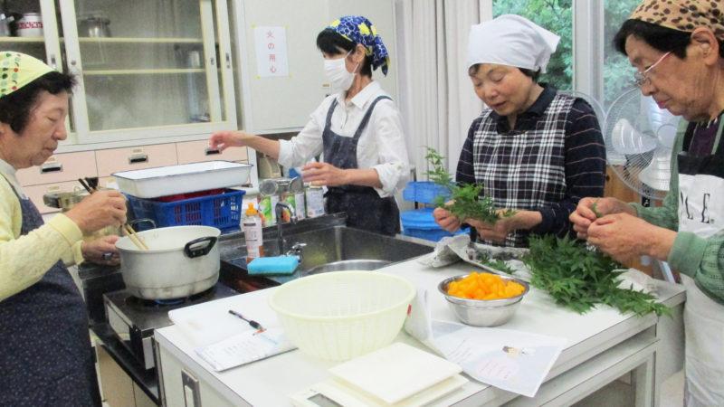 鳥羽市元小浜小学校で料理教室を開催いたしました!