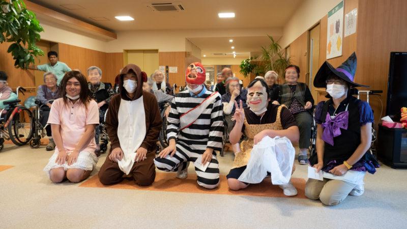 特別養護老人ホームあらしま苑で運動会を行いました!