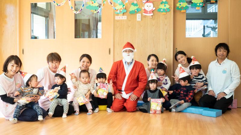 グローバルキッズルームうがたでクリスマス会を開催しました!