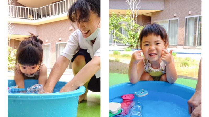 水と触れ合う楽しさを満喫!グローバルキッズルームうがたで水遊び開催中!